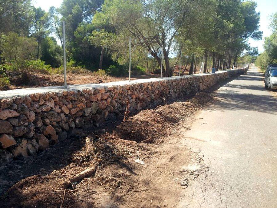 Foto cerramiento de piedra finca de marmesbal 462628 - Cerramientos de piedra ...
