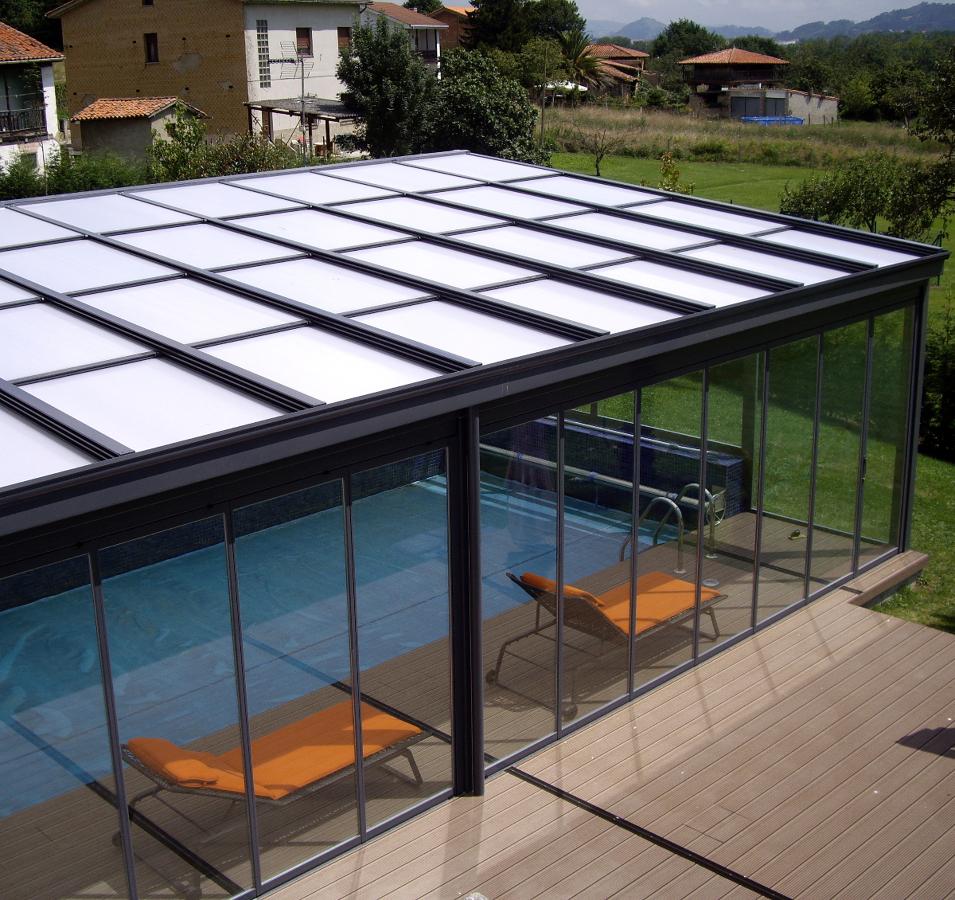 Foto cerramiento de piscina en siero asturias de dise a for Piscinas en asturias