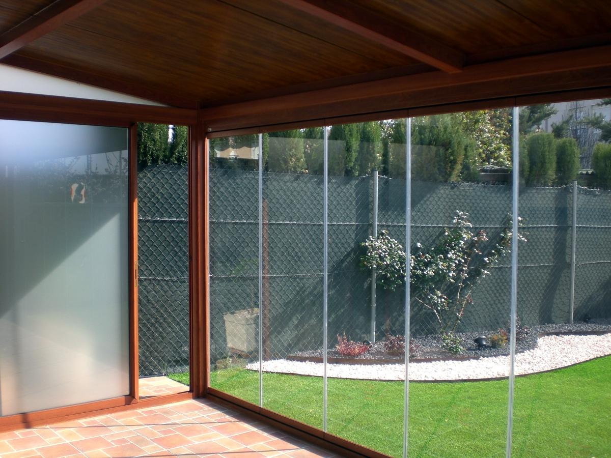 Foto cerramiento de porche de dalucar 211070 habitissimo - Cerramiento aluminio porche ...