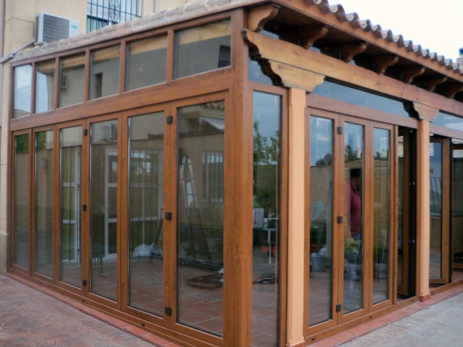 Foto cerramiento porche pvc de hogarven 208640 habitissimo - Cerramientos de aluminio para porches ...