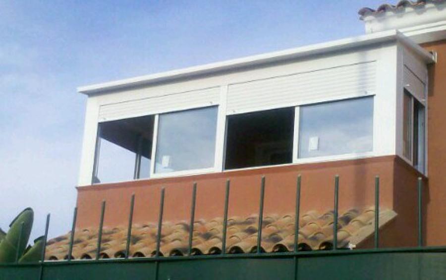 Foto cerrar balc n de cristaleria vi as sl 527082 - Cerrar balcon ...