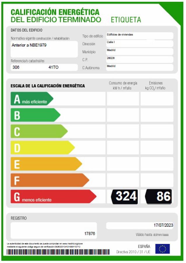 Certificados Energéticos viviendas, locales y naves industriales.
