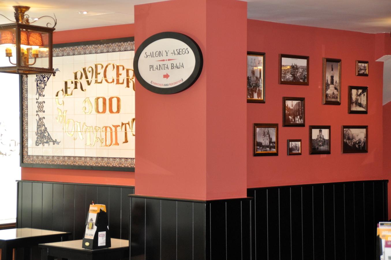 Foto cerveceria 100 montaditos de quatro decoracion for Decoracion de cervecerias