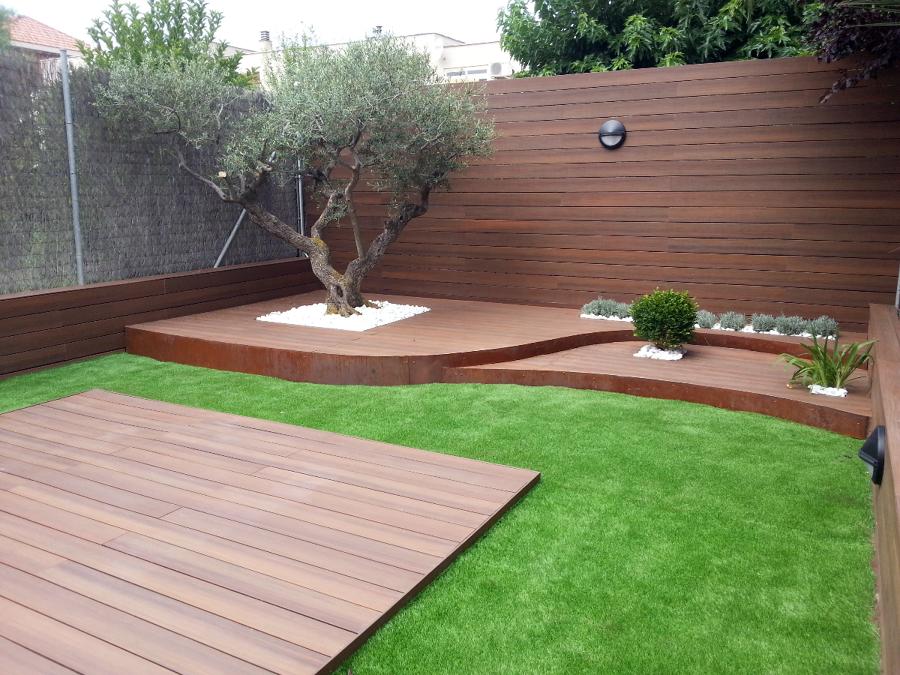 Foto c sped artificial hs jardineria zaragoza de hs for Cesped para jardin