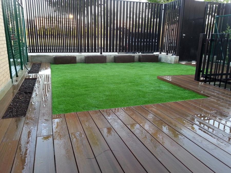 Foto c sped artificial hs jardineria zaragoza de hs jardines 389497 habitissimo - Cesped artificial en valencia ...