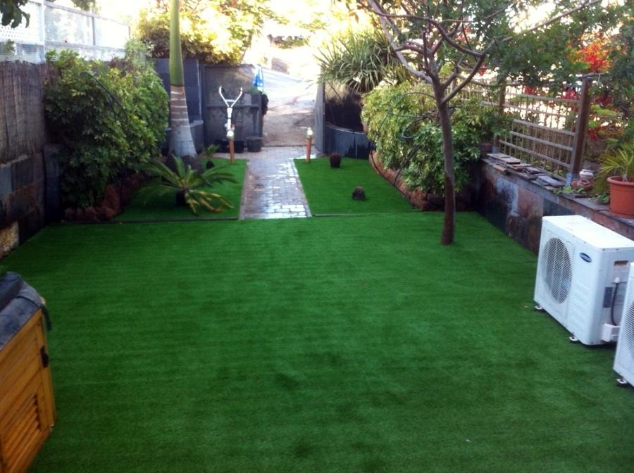 cesped artificial jardin