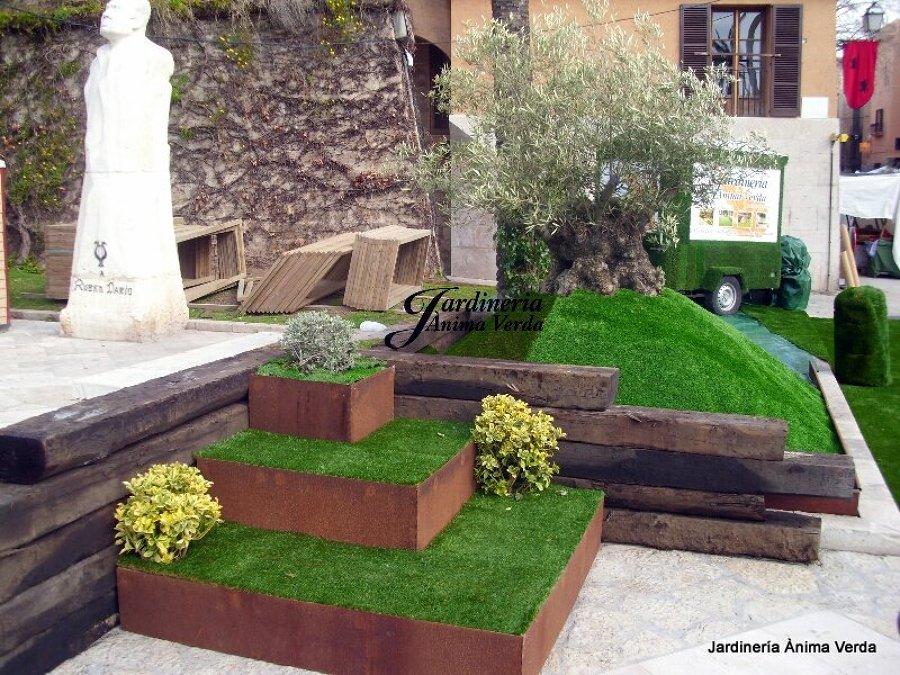 Foto c sped artificial para decoraci n de jardineria for Jardineria huelva