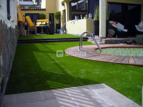Foto c sped artificial de tajalaque jardiner a integral - Cesped artificial en valencia ...