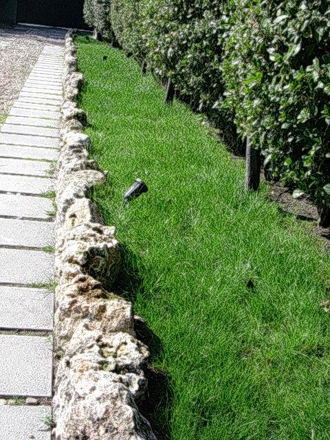 Foto c sped rocalla e iluminaci n de moderngarden - Jardineria villanueva valencia ...