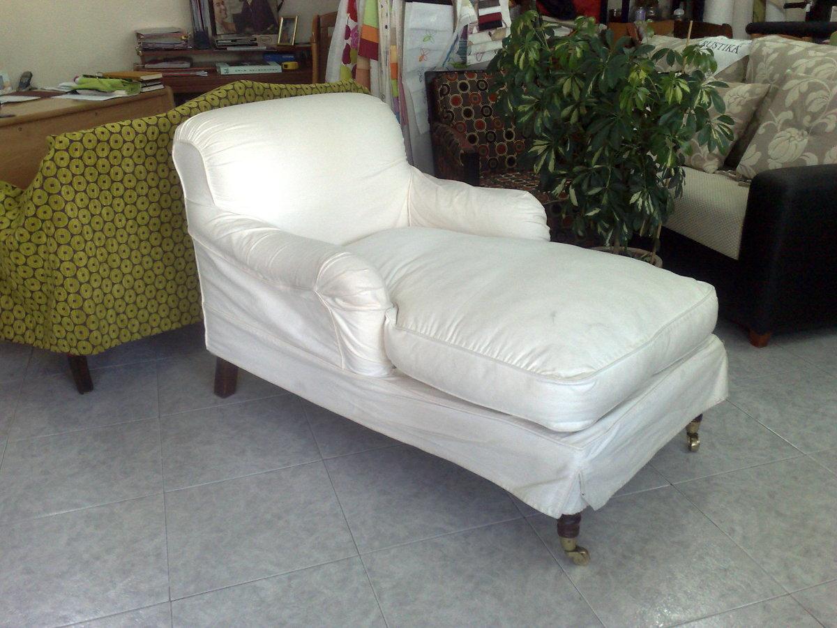 Foto chaiselongue antes de retapizarla de tapizados j s - Tapiceros en fuenlabrada ...