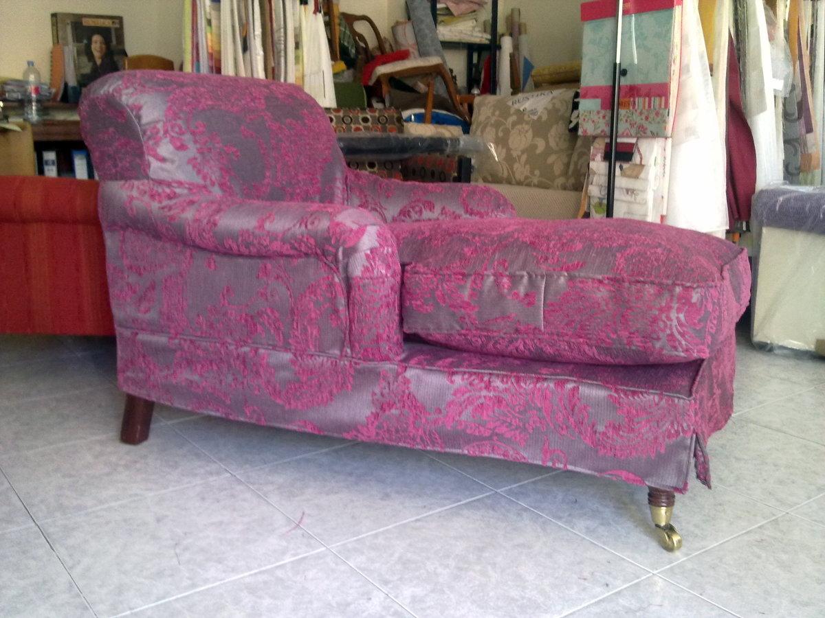 Foto chaiselongue retapizada tejido mileniun de tapizados - Tapiceros en fuenlabrada ...
