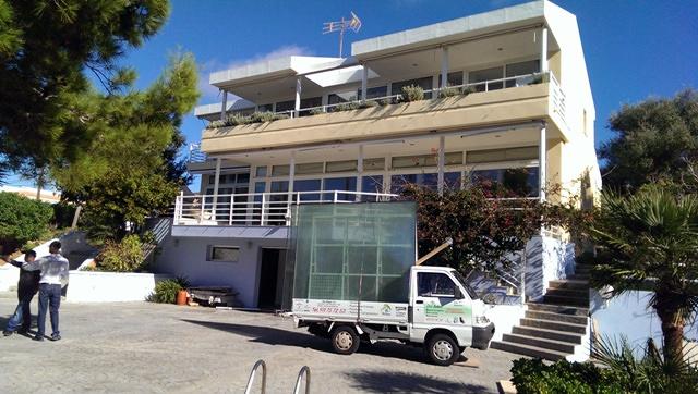 Chalet de lujo con ventana de PVC en Mallorca