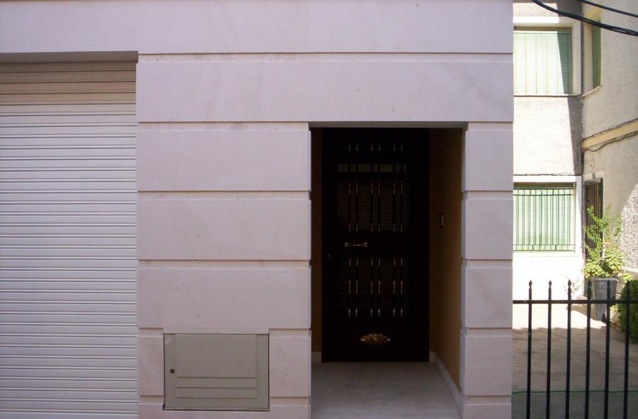 chapado de local y portal