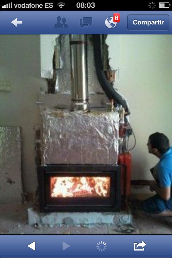 Foto chimenea calefactora de chimeneastalaya 632542 for Chimenea calefactora