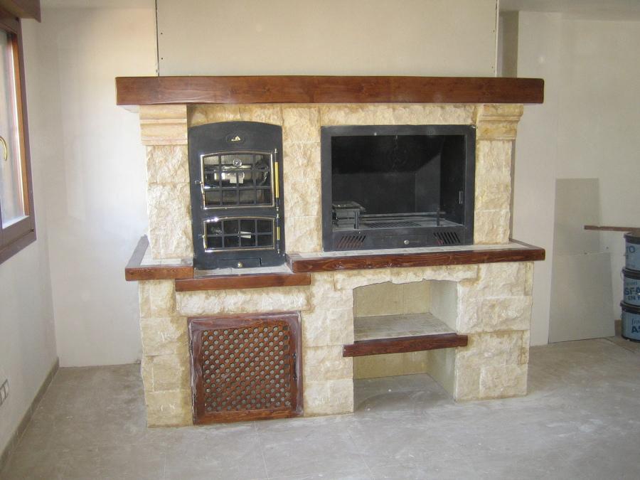Foto chimenea con horno de chimeneas villalva 535813 - Chimeneas valladolid ...