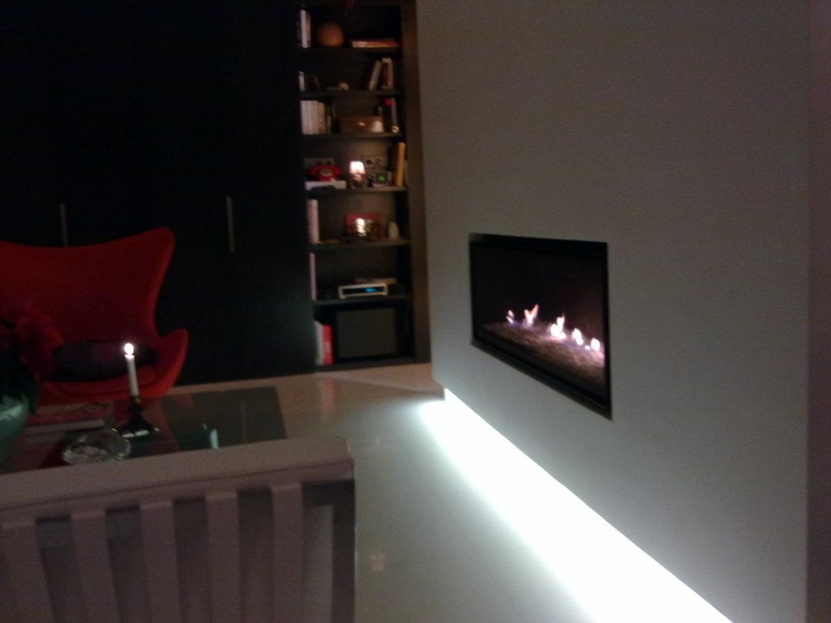 Foto chimenea de gas de la casa bodart gonay de - Chimeneas villalba ...