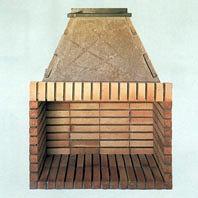 Foto chimenea hogar de ladrillo de chimeneas f nix - Chimeneas villalba ...