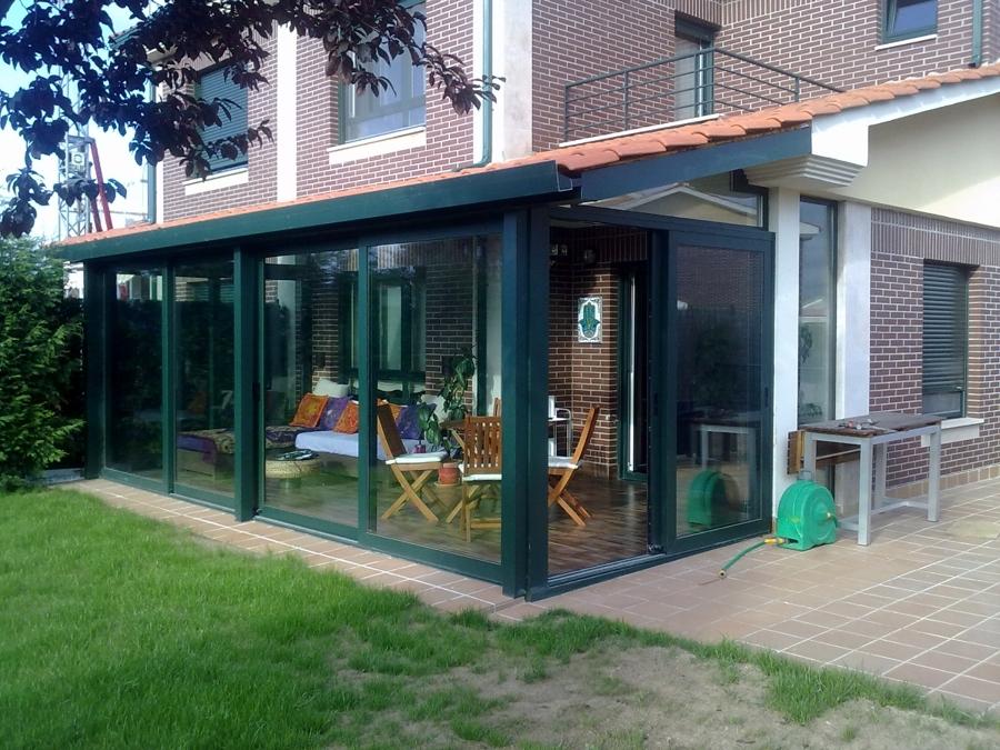 Foto cierre de terraza de aluminios secades s l 346469 habitissimo - Cierres de terrazas ...
