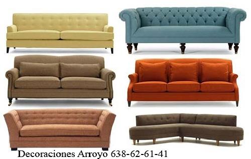 Foto clasicador de tipos de sofas de tapiceria arroyo - Muebles arroyo ceuta ...
