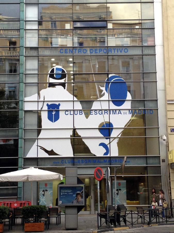 Club de esgrima de Madrid