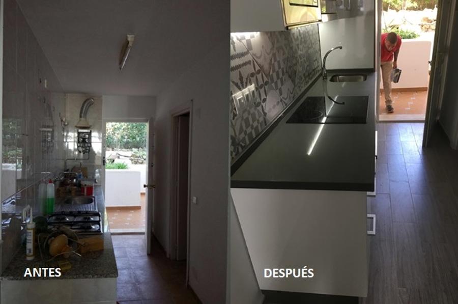 Renovación de cocina