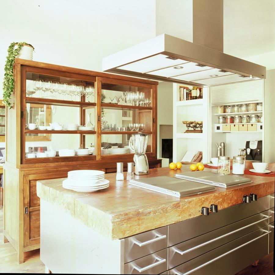 Foto cocina abierta de eleace 331802 habitissimo - Cocina abierta ...