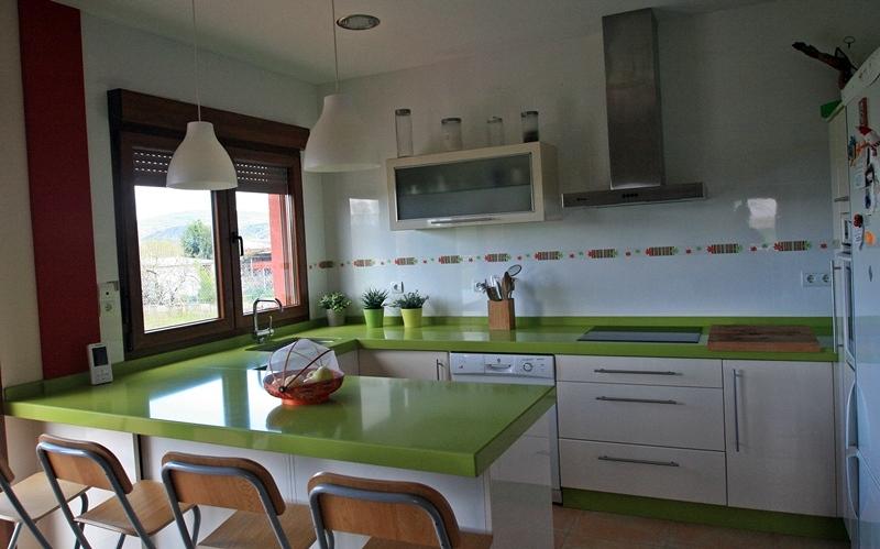 Foto cocina americana de insber reformas 338931 for Planos de cocinas tipo americano