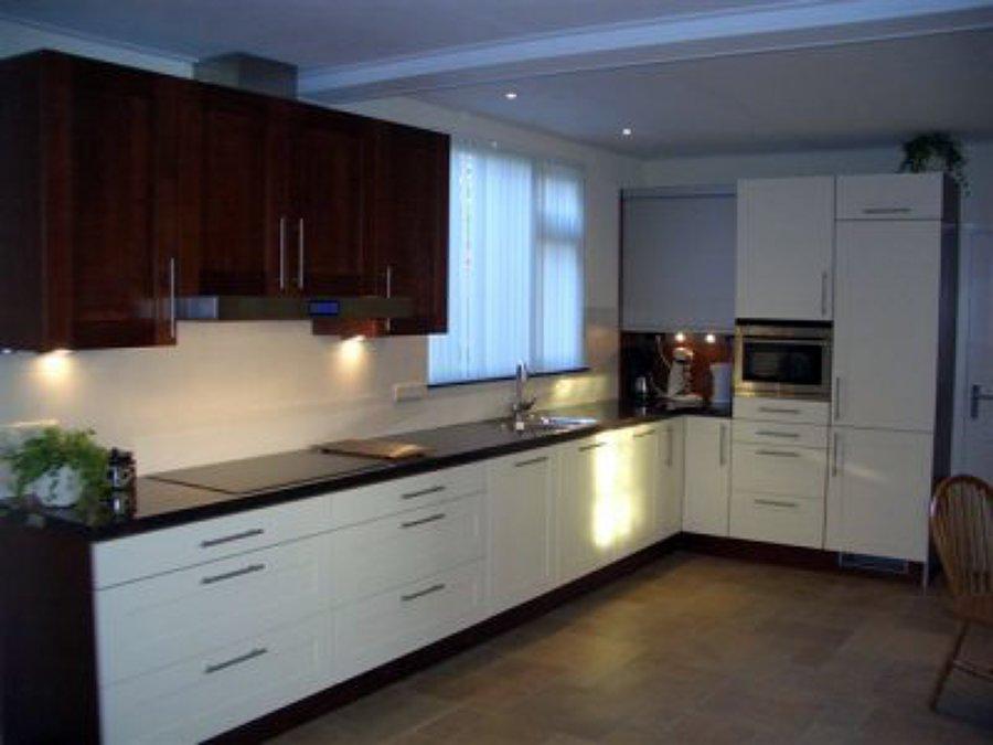Foto cocina blanco wengu de f v instalaciones 449775 - Cocinas en pontevedra ...
