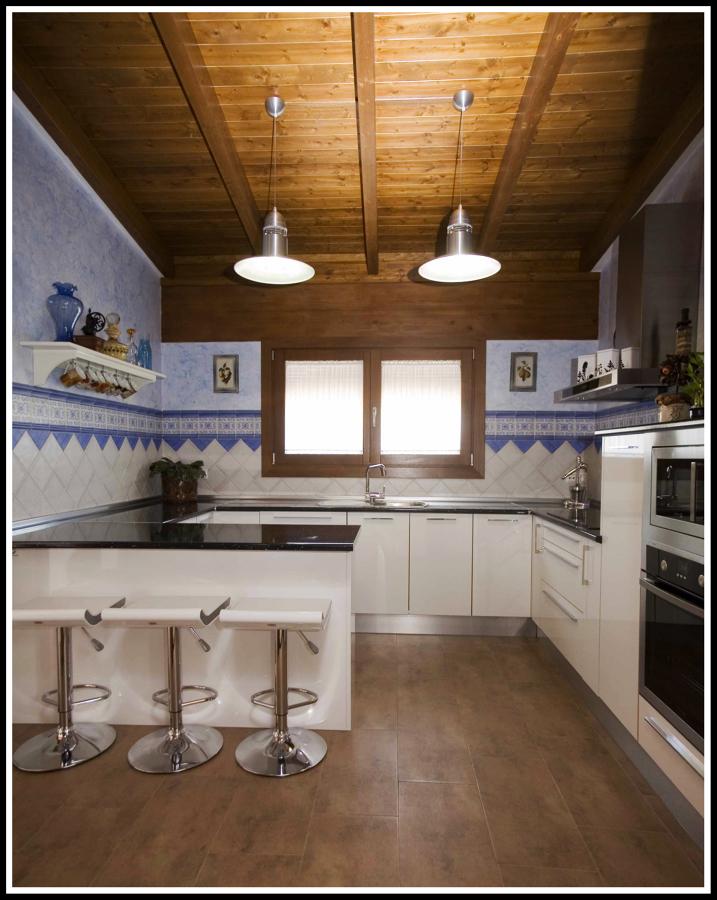 Foto cocina casa campo de concepto interior 227502 for Cocinas interiores casas