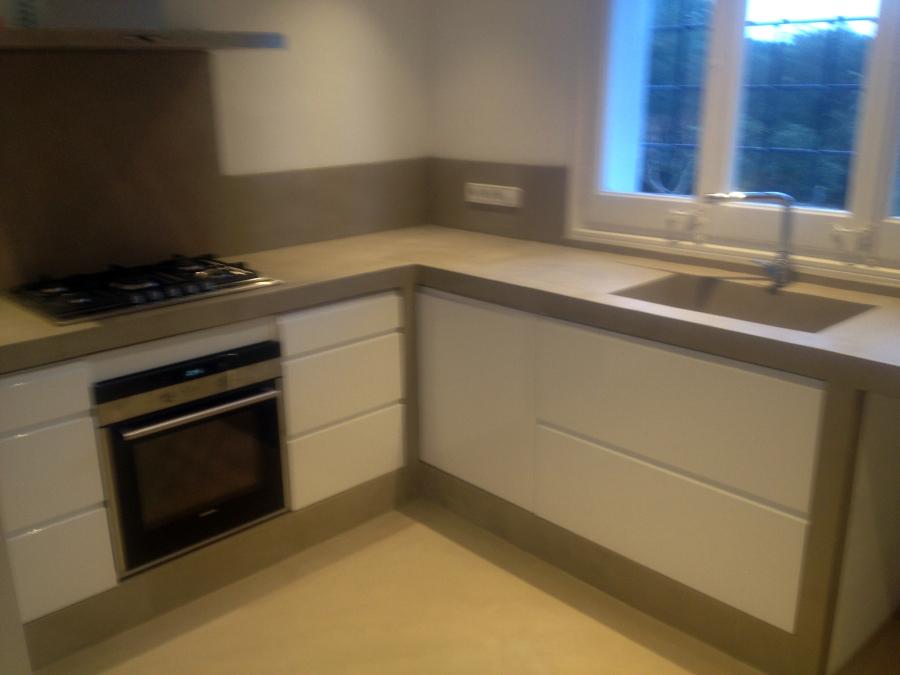 Foto cocina cemento pulido de betonisart 391409 - Banos cemento pulido ...