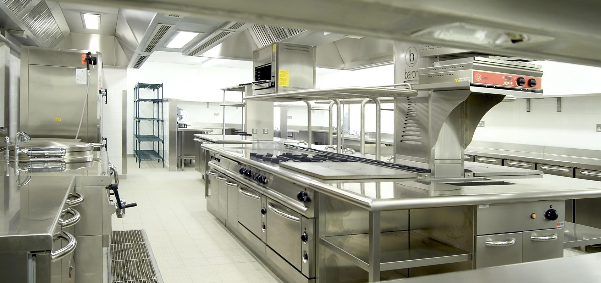 Cocina central.
