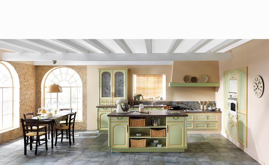 Foto cocina cl sica lullyu de schmidt castelldefels for Cocinas schmidt opiniones