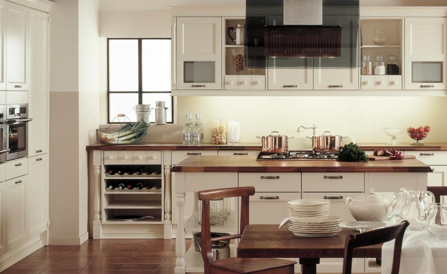 Foto cocina cl sica scarlet de schmidt castelldefels for Cocinas castellon precios