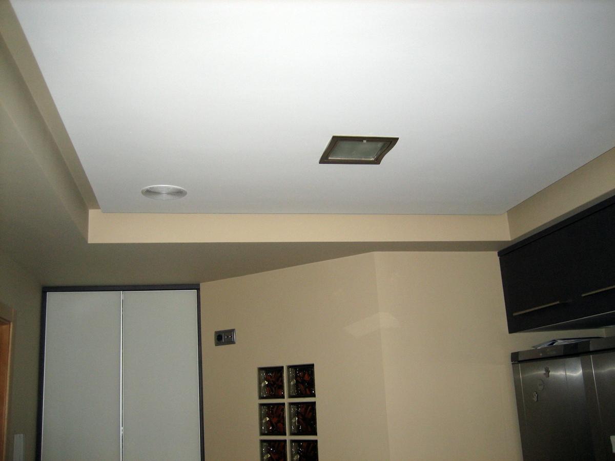 Foto cocina con doble techo de vicente tormo murillo for Techo cocina