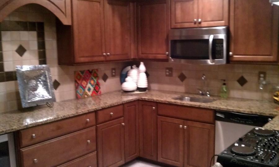 Foto cocina con mesada de granito de nancar 372861 for Mesada de granito