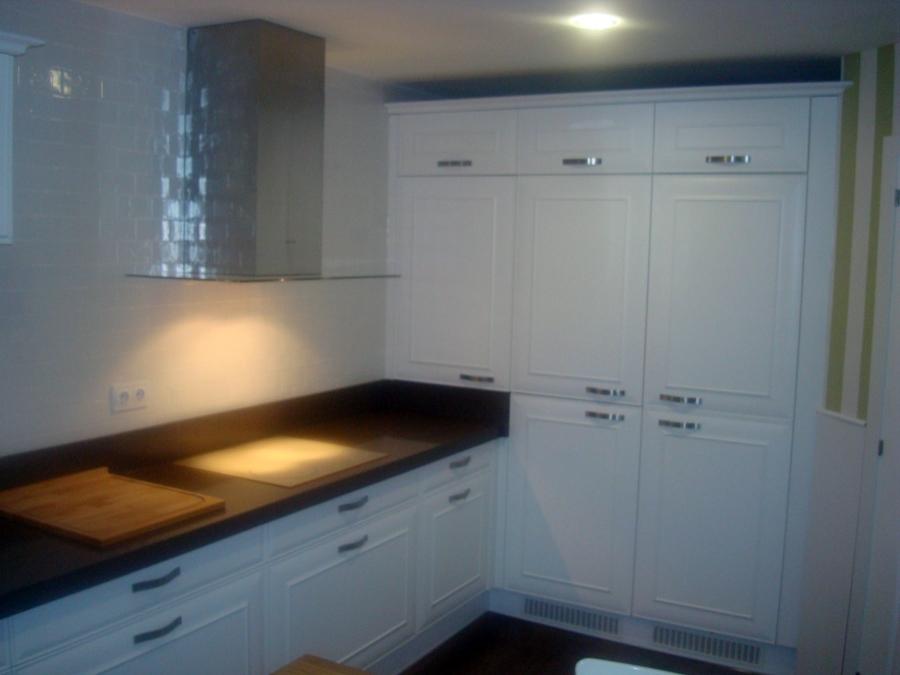 Foto cocina con puertas lacadas blanco de armack 210933 - Cocinas lacadas en blanco ...