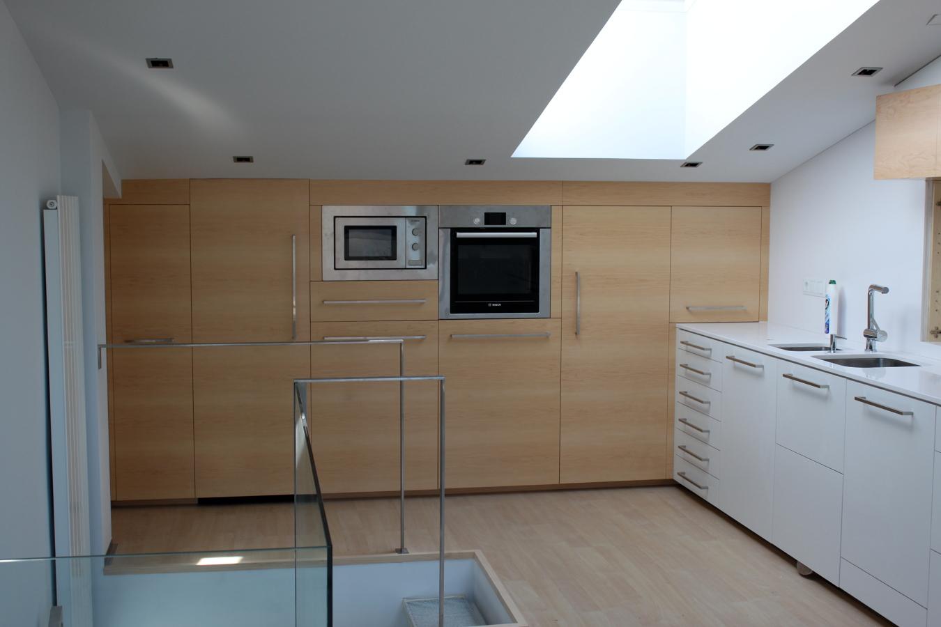foto cocina de dise o alto standing de barnizados baype s