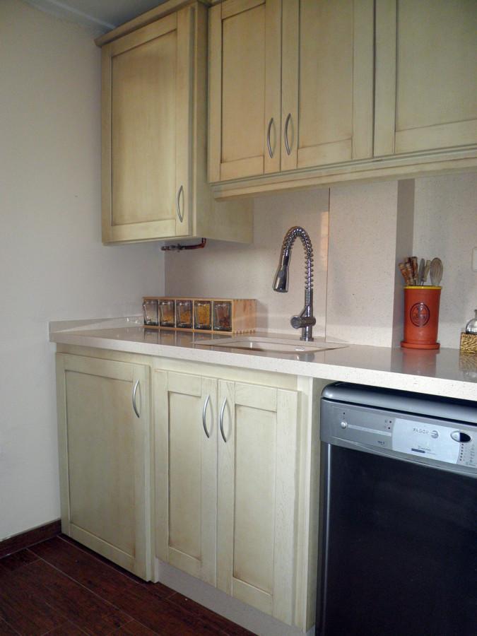Foto cocina de madera de ana belen duart 436426 - Montadores de cocinas ...