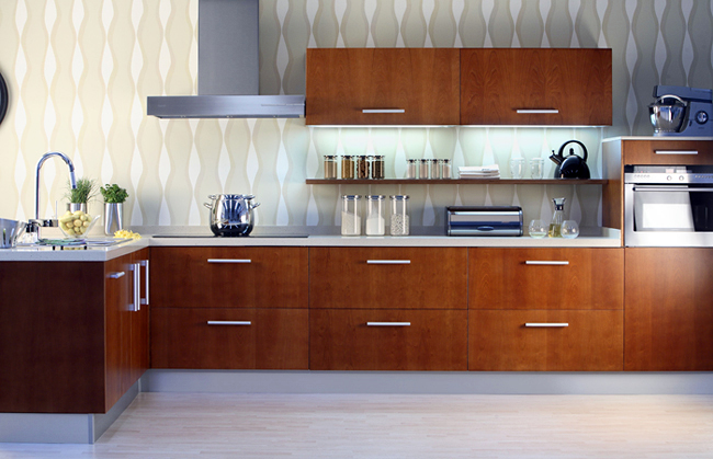 Foto: Cocina de un Cliente de Tienda de Muebles de Cocina ...