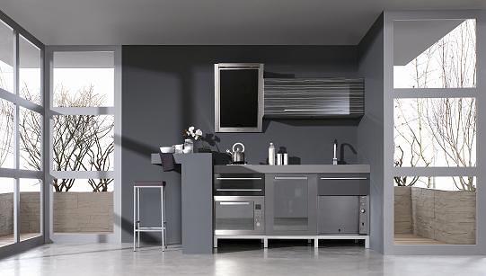 Foto cocina dise o moderno de sacoba de chicano 293476 - Cocinas diseno moderno ...