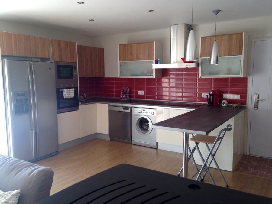 Cocinas de formica imitacion madera cheap cheap hermosa cocina color haya claro muebles de - Encimeras de formica imitacion silestone ...