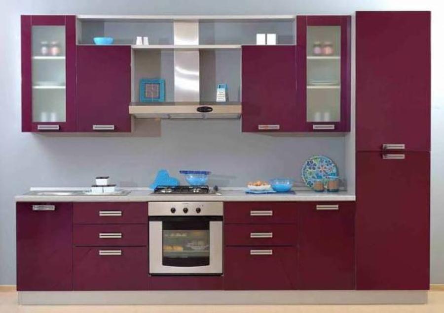 Foto cocina granate l nea 1 de reformas anya 1012967 for Cocinas en linea