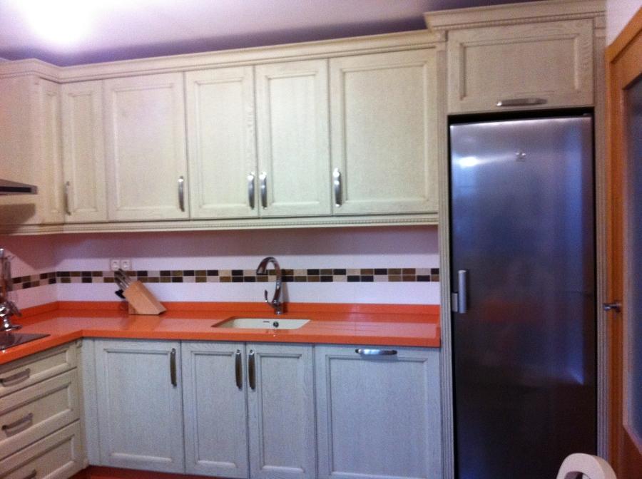 Foto cocina madera de roble de jgb carpinter a 211139 for Cocinas de madera de roble