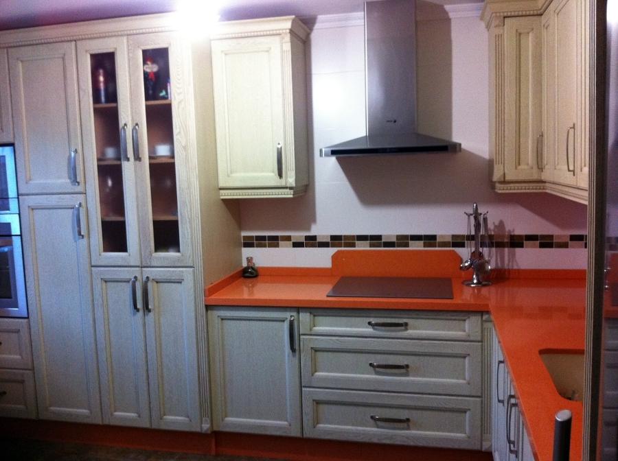 Foto cocina madera de roble de jgb carpinter a 211146 for Cocinas de madera de roble