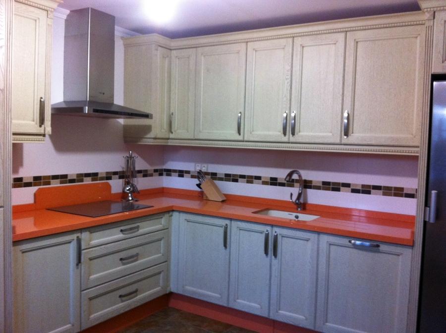 Foto cocina madera roble de jgb carpinter a 211145 for Cocinas de madera de roble