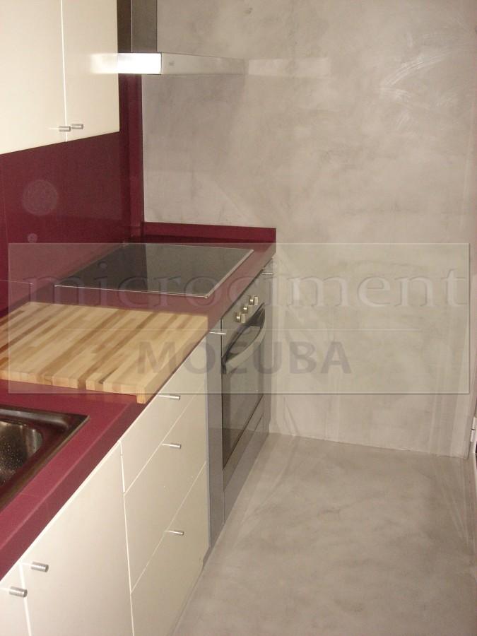 Foto cocina microcemento de shaco mocuba 691108 - Cocinas de microcemento ...