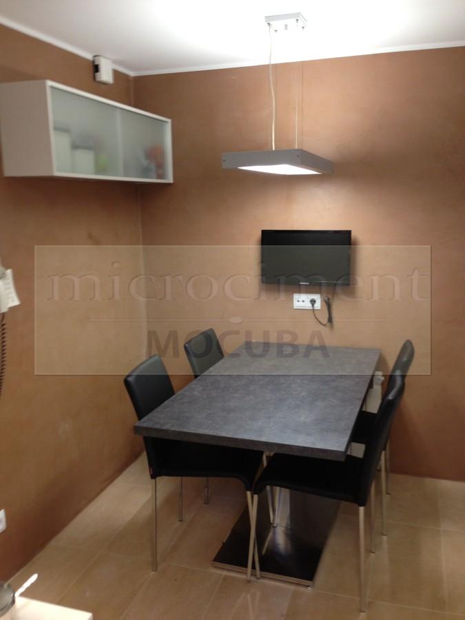 Foto cocina microcemento de shaco mocuba 693632 - Microcemento sobre azulejos ...