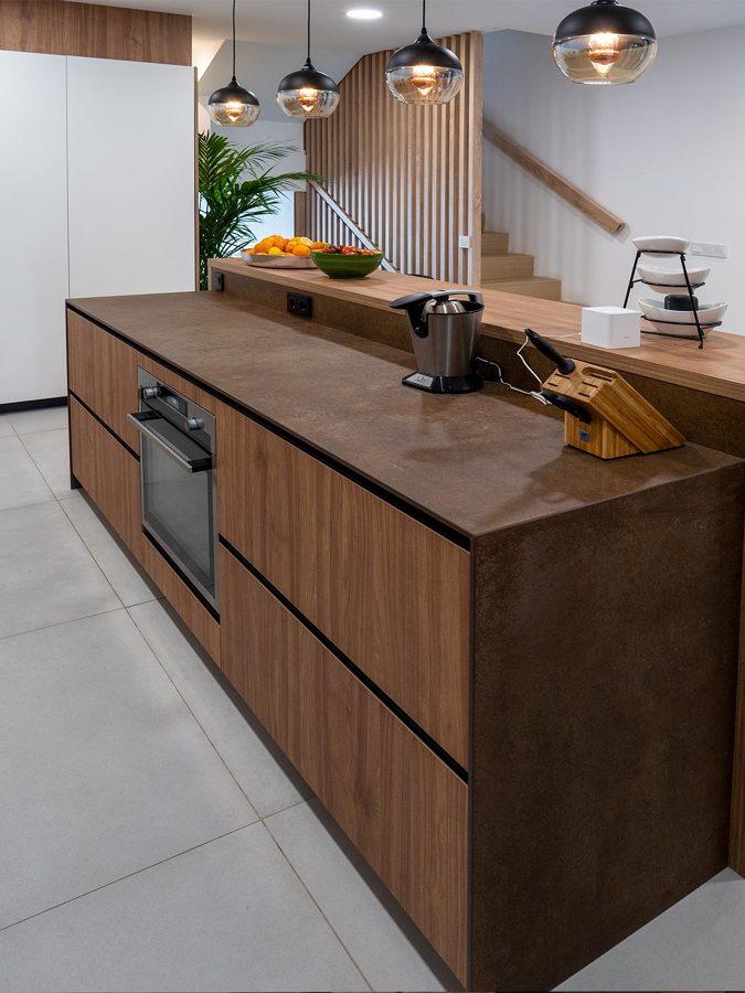 Cocina moderna y funcional