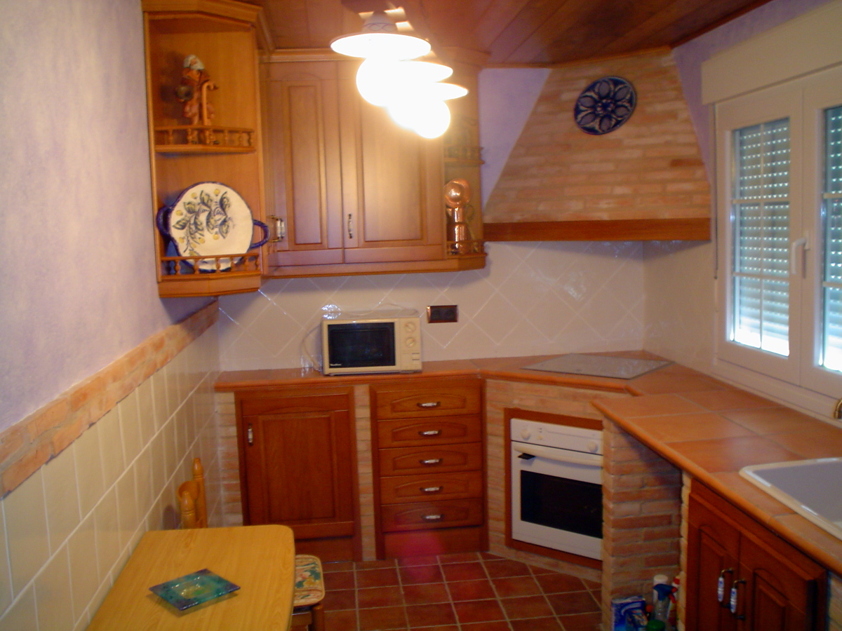 Cocinas Rusticas De Ladrillo. Affordable Fotos Y Modelos De Cocinas ...