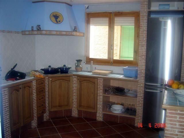 Foto Cocina Simulacion de Obra de Construcciones Y Carpinteria